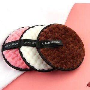 💛HP💛 3Pc Microfiber Cloth Cotton Makeup Remover